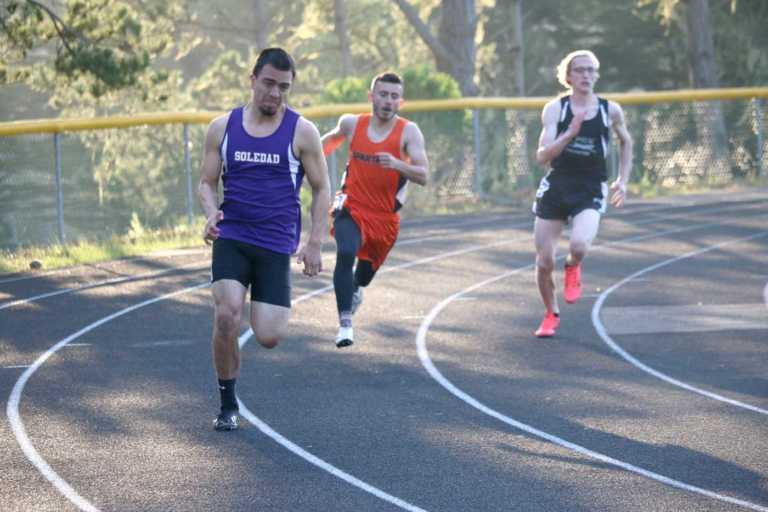 Track teams compete in Monterey Peninsula