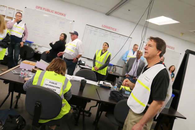 King City disaster drill emergency operations exercise