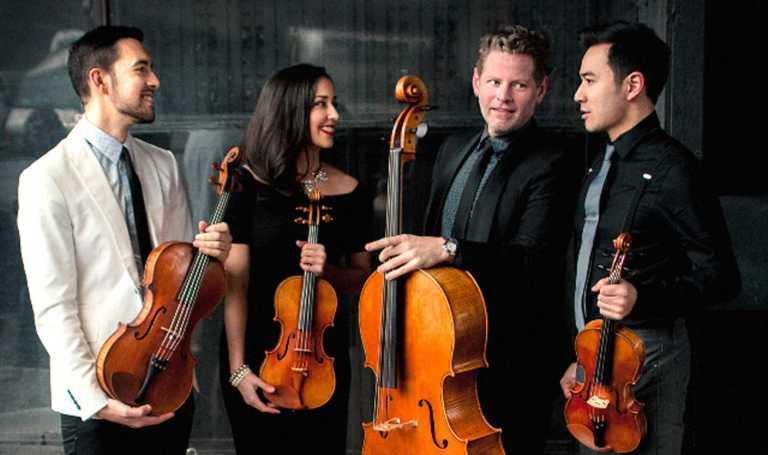 Catalyst String Quartet hosts workshop for students