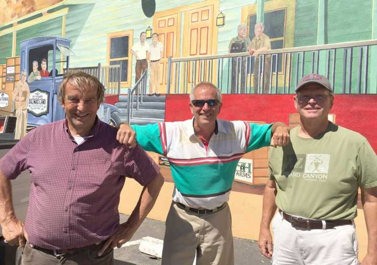 King City in Bloom completes first phase of new historical mural
