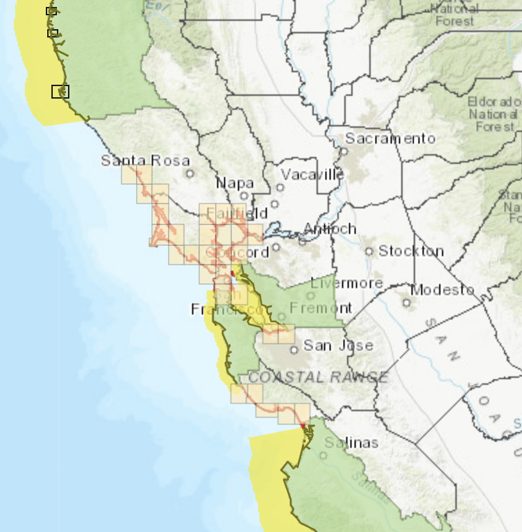 State adds tsunami hazard maps for Alameda, Monterey and San Mateo counties